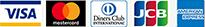 クレジットカード VISA/MASTER/DINERS/JCB/AMEX